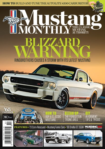Mustang Monthly Cover - 7/1/2015