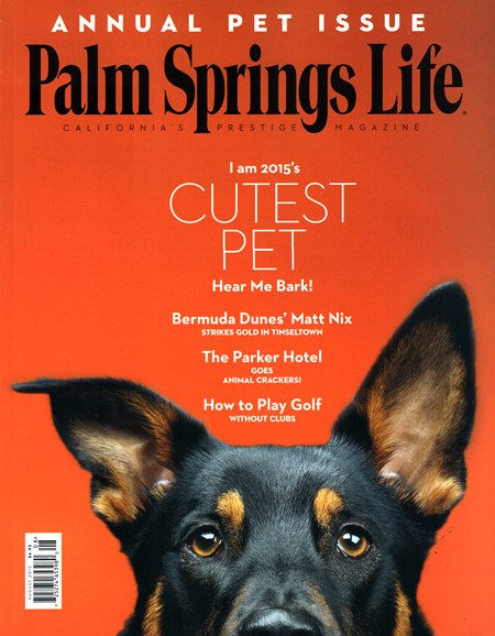 Palm Springs Life Cover - 8/1/2015