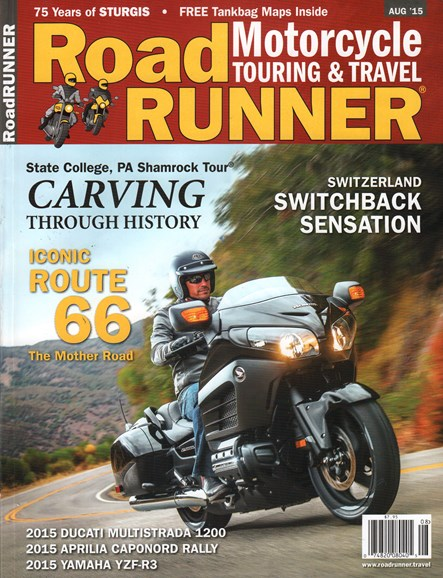 Road RUNNER Motorcycle & Touring Cover - 8/1/2015