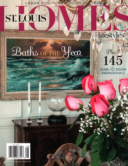 St. Louis Homes & Lifestyles Cover - 8/1/2015