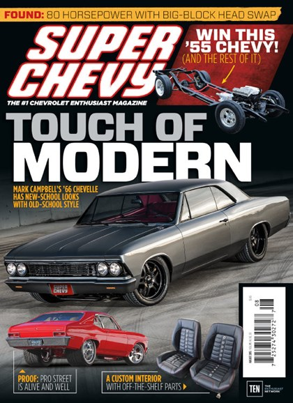 Super Chevy Cover - 8/1/2015