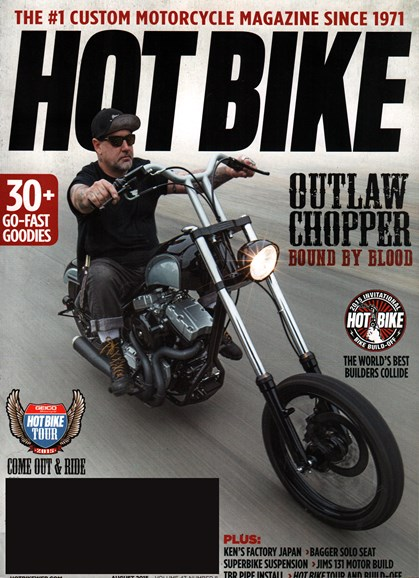 Hot Bike Cover - 8/1/2015