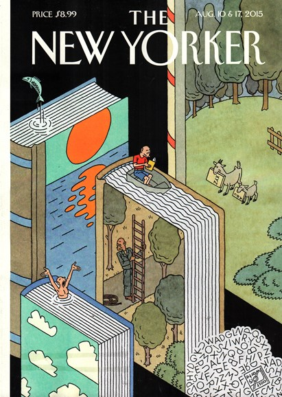 The New Yorker Cover - 8/10/2015