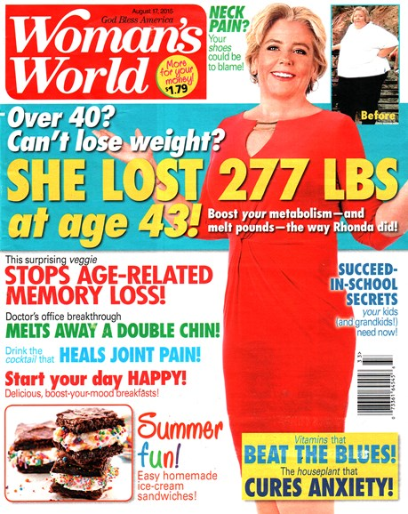 Woman's World Cover - 8/17/2015