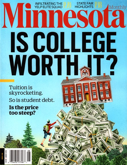 Minnesota Monthly Cover - 8/1/2015