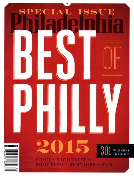 Philadelphia Magazine Cover - 8/1/2015
