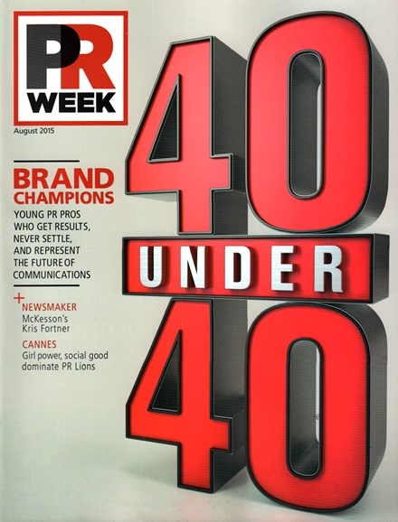 PRWeek Cover - 8/1/2015
