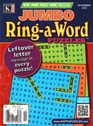 Jumbo Ring a Word Magazine 11/1/2015