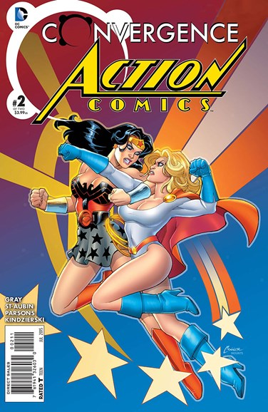 Action Comics Cover - 7/1/2015