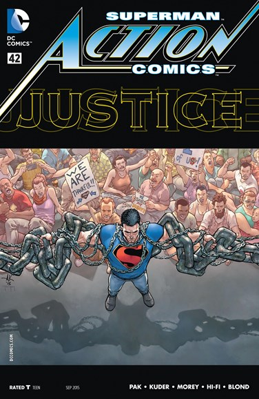 Action Comics Cover - 9/1/2015