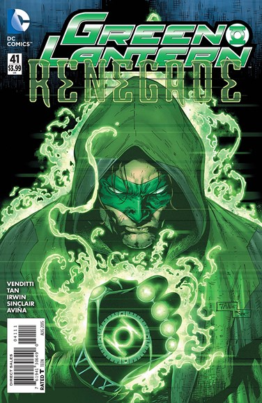 Green Lanterns Cover - 8/1/2015