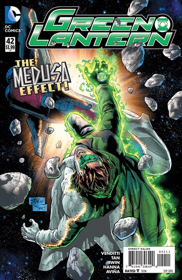 Green Lanterns Cover - 9/1/2015
