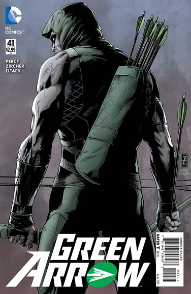 Green Arrow Cover - 8/1/2015
