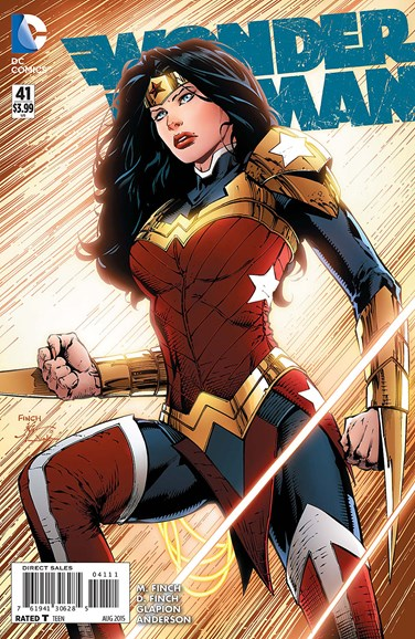 Wonder Woman Cover - 8/1/2015