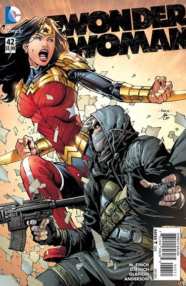 Wonder Woman Cover - 9/1/2015