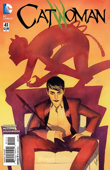 Catwoman Cover - 8/1/2015