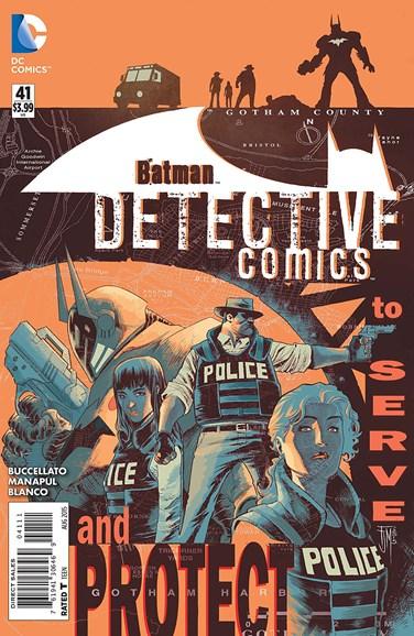 Detective Comics Cover - 8/1/2015