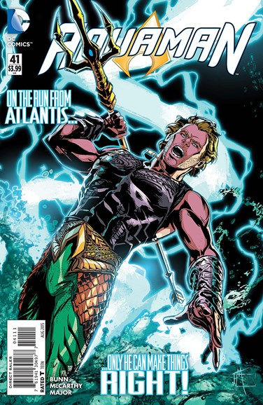 Aquaman Cover - 8/1/2015