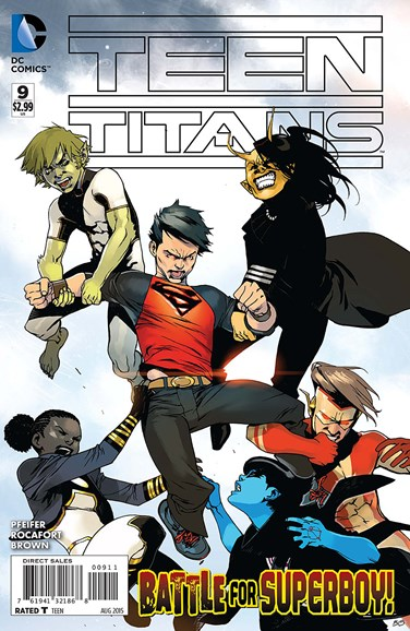 Teen Titans Cover - 8/1/2015