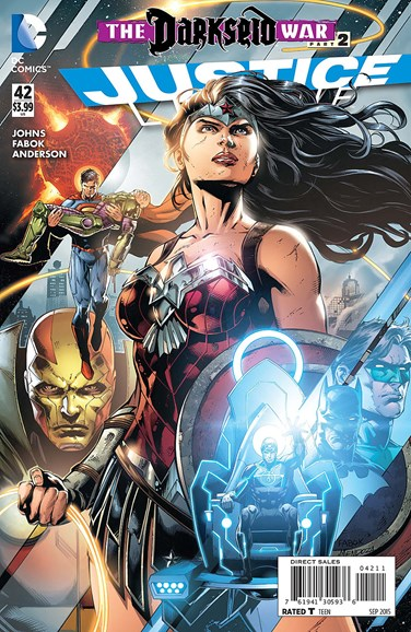 Justice League Cover - 9/1/2015