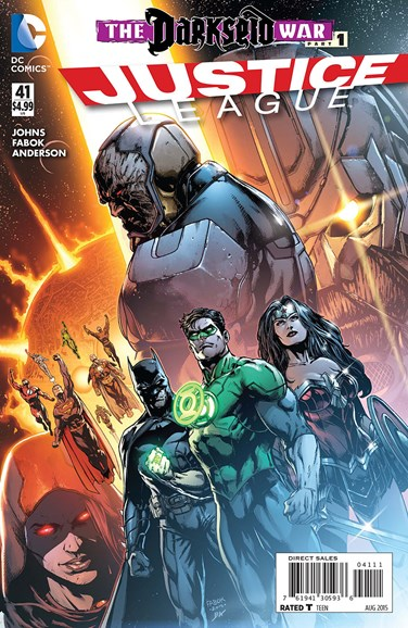 Justice League Cover - 8/1/2015
