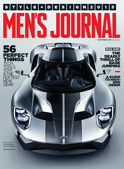 Men's Journal Cover - 9/1/2015