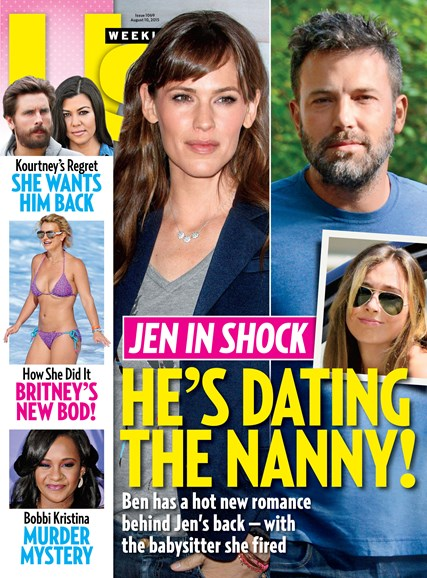 Us Weekly Cover - 8/10/2015