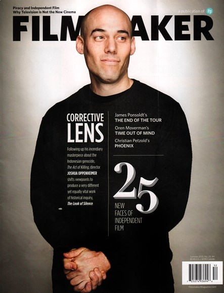 Filmmaker: The Magazine Of Independent Film Cover - 7/1/2015
