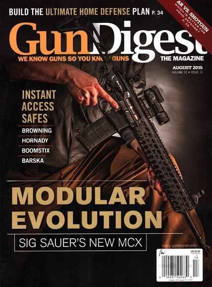 Gun Digest Cover - 8/1/2015
