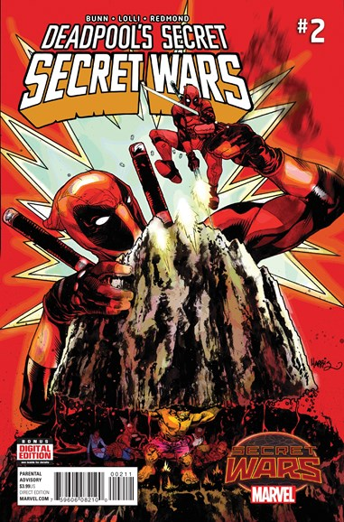 Deadpool Cover - 8/1/2015