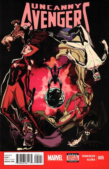 Uncanny Avengers Cover - 8/1/2015