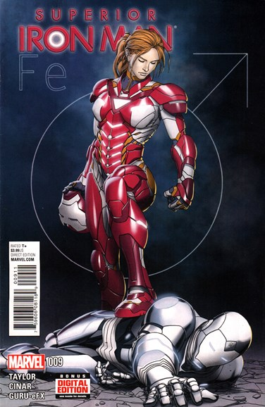 Tony Stark: Iron Man Cover - 7/1/2015