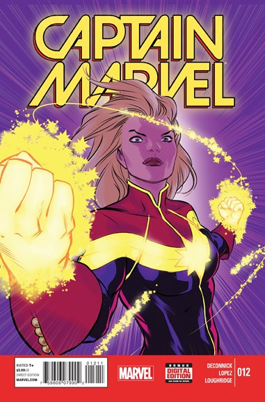 Captain Marvel Cover - 4/1/2015