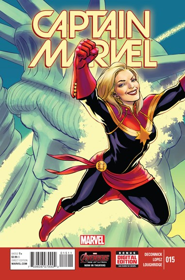 Captain Marvel Cover - 7/1/2015