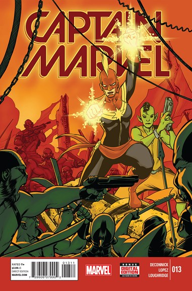 Captain Marvel Cover - 5/1/2015