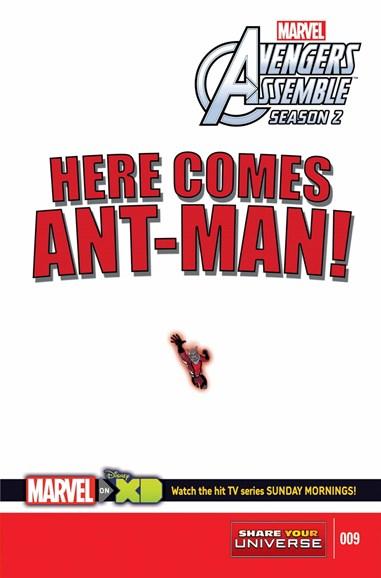 Marvel Universe Avengers Assemble Cover - 9/1/2015