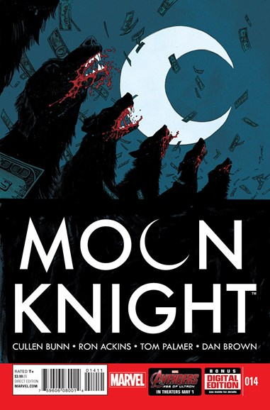 Moon Knight Cover - 6/1/2015