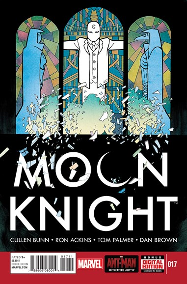 Moon Knight Cover - 9/1/2015
