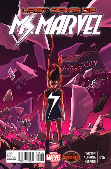 Magnificent Ms. Marvel Cover - 8/1/2015
