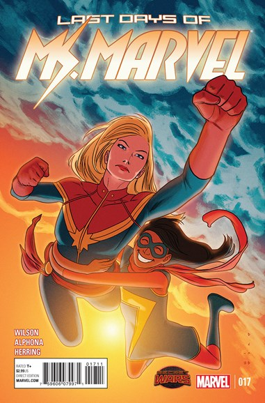 Magnificent Ms. Marvel Cover - 10/1/2015