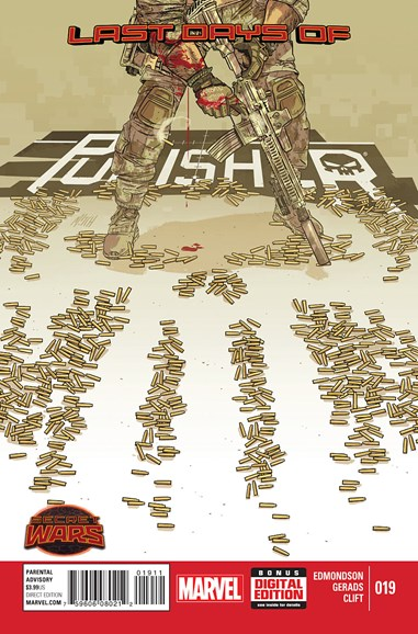 The Punisher Cover - 8/1/2015