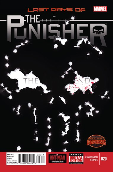The Punisher Cover - 9/1/2015