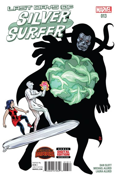 Silver Surfer Cover - 9/1/2015
