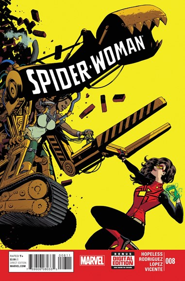 Spider-Woman Cover - 8/1/2015