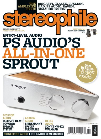 Stereophile Cover - 5/1/2015