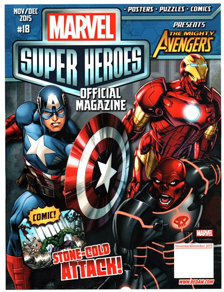 Marvel Super Heroes Cover - 11/1/2015