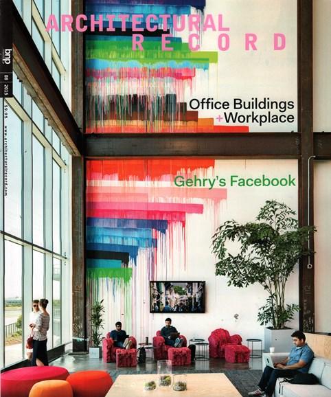 Architectural Record Cover - 8/1/2015
