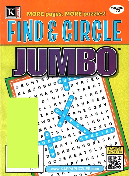 Find & Circle Jumbo Cover - 10/1/2015