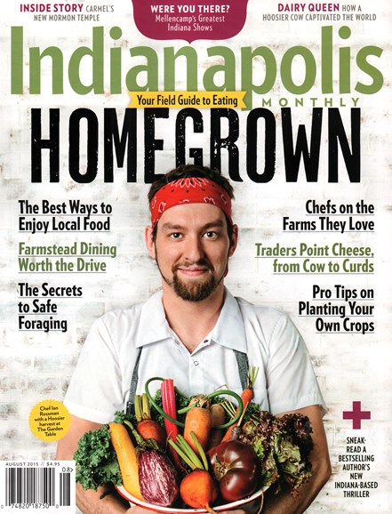Indianapolis Monthly Cover - 8/1/2015