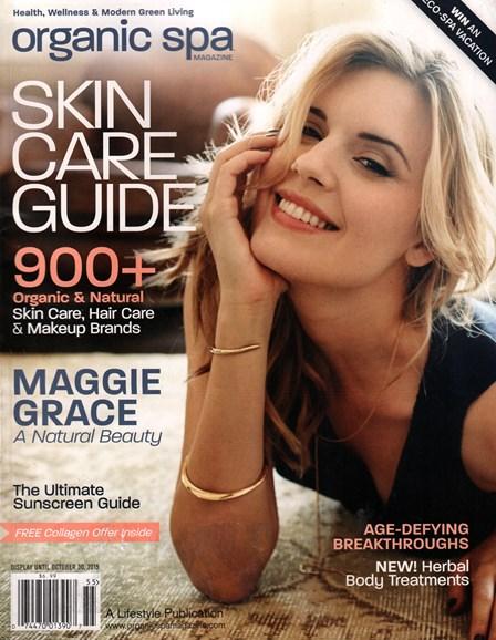 Organic Spa Cover - 9/1/2015